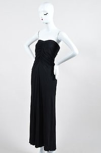 Black Maxi Dress by Rick Owens Ruched