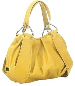 Kooba Satchel in Canary Yellow