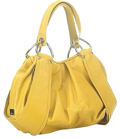 Preload https://item4.tradesy.com/images/kooba-bag-satchel-canary-yellow-1108738-0-2.jpg?width=440&height=440