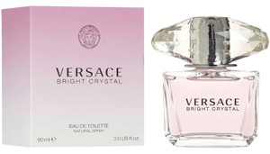 Versace VERSACE BRIGHT CRYSTAL Eau de Toilette, 3 oz * BRAND NEW SEALED WITH RECEIPT * 100% AUTHENTIC GUARANTEED