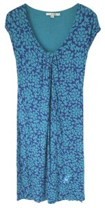Blue Maxi Dress by Boden Summer Knit Jersey Tropical