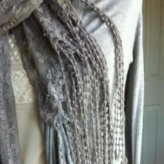 Urban Outfitters Lace Fringe Scarf