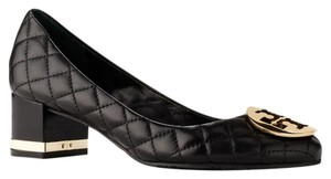 Tory Burch Leather Black Pumps