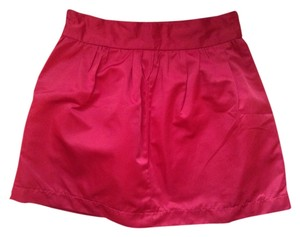 Twenty One Mini Skirt Red