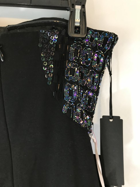 bebe Party Lbd Bodycon Hand Embellished Dress