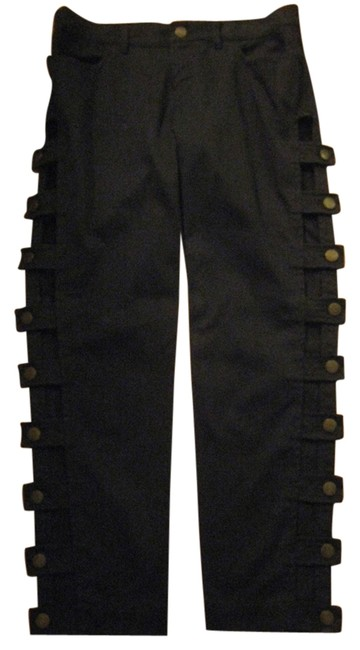 See by Chloé Side-cut Straight Leg Jeans-Dark Rinse