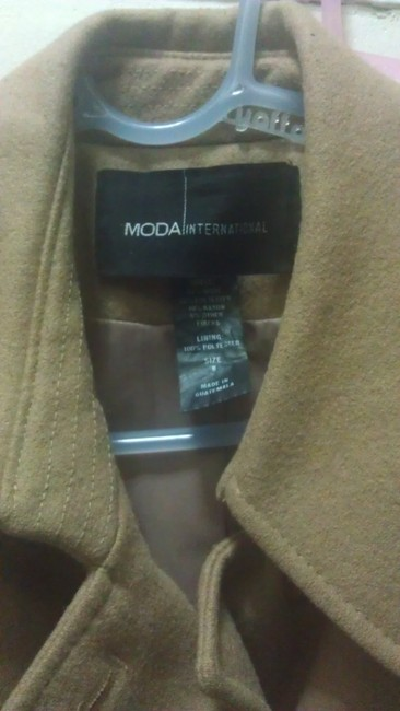 Moda International Pleated Trench Coat