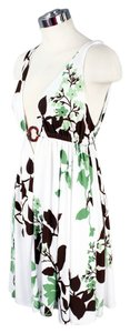 Pink Polka Dot by Sherise Neil short dress White & Green Medium Maxi on Tradesy