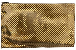 Mesh Whiting & Davis Co. Bags Gold Clutch
