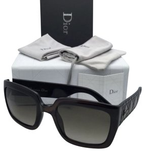 Dior New CHRISTIAN DIOR Sunglasses MYDIOR1N DUSHA Brown Frame w/ Brown Gradient Lenses