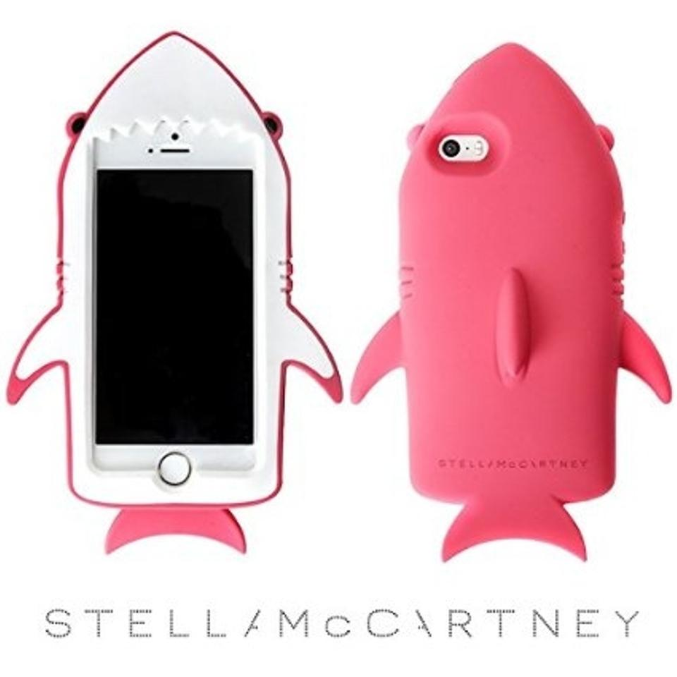 free shipping f992d d2d81 Stella McCartney Pink / Rose Shark Iphone 6 Case Tech Accessory 46% off  retail