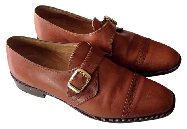 Item - Cognac Loafer with Buckle F0603 17 Mules/Slides Size US 7.5 Regular (M, B)