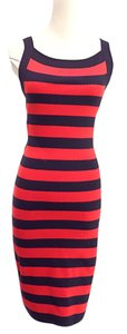 Michael Kors short dress red, blue on Tradesy