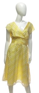 Coldwater Creek short dress Yellow Polka Dot Polka Dot Women's Sale 90% Off New on Tradesy