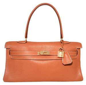 Hermès Hermes Jpg Kelly Tote in Tan
