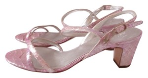 Chanel New 40 40 Pink Sandals