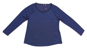 Elie Tahari Top Navy Midnight Dream