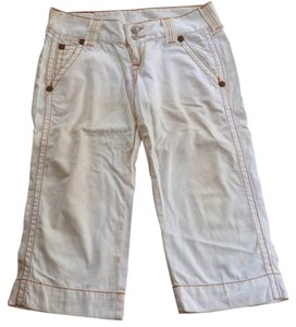 True Religion Capri/Cropped Pants White