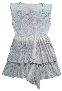 Marc by Marc Jacobs short dress Beige / Blue on Tradesy