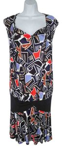 Diane von Furstenberg short dress Knit Silk Jersey Spark Dvf on Tradesy