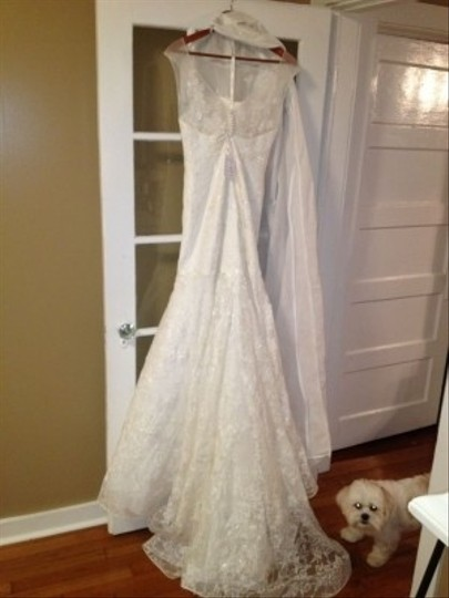 Oleg Cassini Cwg483 Wedding Dress