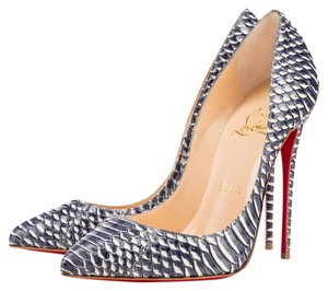 Christian Louboutin Pump Pointed Toe Rare Snake Skin Pumps