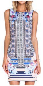 Clover Canyon Byzantine Scarf Print dress Dress