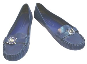 Marc by Marc Jacobs Leather BLUE Flats