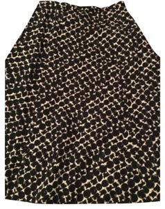 Talbots Skirt Black/cream