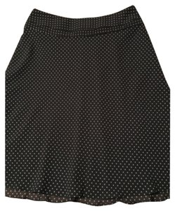 Ann Taylor Skirt Black/white