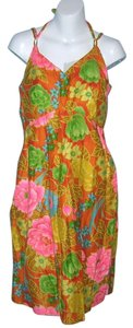 Sears short dress Multicolor Psychedelic Vintage Eon on Tradesy