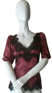 Dolce&Gabbana Top Burgandy/Dark rose