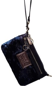 Coach Coach Poppy Sequin Large Wristlet