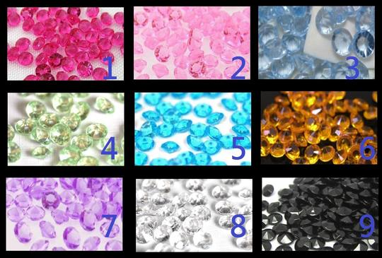 Clear - 20000x 4.5mm 1/3 Ct Acrylic Diamond Scatter Confetti Centerpieces Table Top Decor Vase Filler