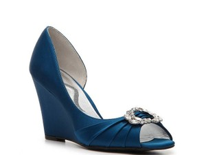 Nina Shoes Blue Pumps Size US 7.5