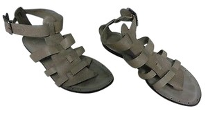Eileen Fisher Womens Gray Sandals