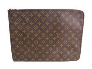 Louis Vuitton Auth LOUIS VUITTON Poche documents Briefcase Monogram M53456 (BF096365)