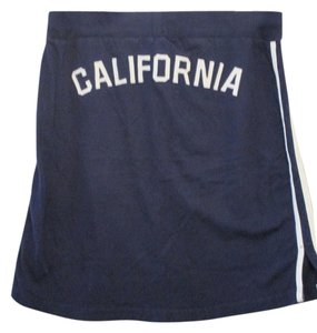 Hollister Summer Medium Juniors Skirt Navy