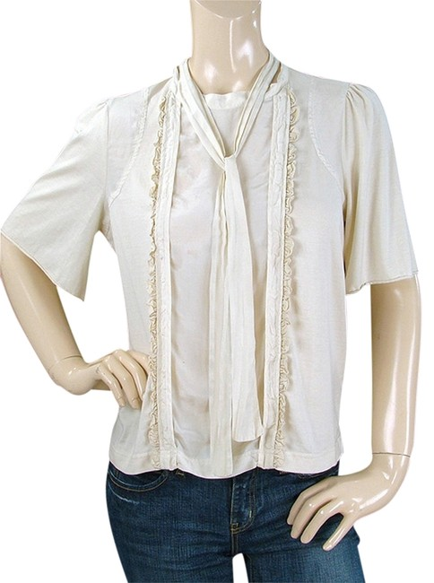 Preload https://item5.tradesy.com/images/see-by-chloe-cream-ivory-beige-cotton-ruffle-trim-blouse-size-6-s-1110354-0-0.jpg?width=400&height=650