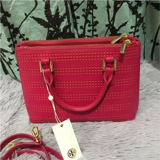 Tory Burch Satchel in Pink Image 5