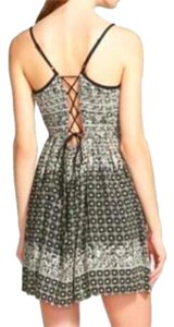 Band of Gypsies short dress Black and White Lace Tie Lace Up on Tradesy