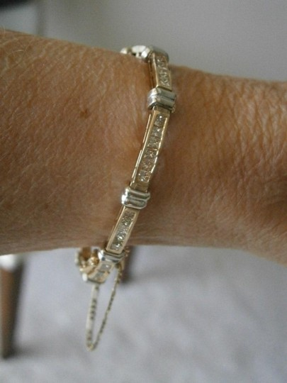 Other Gorgeous 3K Diamond Total Weight Bracelet in solid 14k Gold