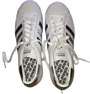 Adidas Limited Edition White//Black//Silver Athletic