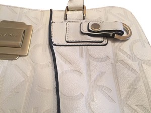 Calvin Klein Satchel in Cream Off White