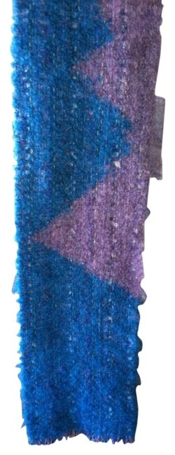 Turquoise Mauve Hand Woven Scarf/Wrap Turquoise Mauve Hand Woven Scarf/Wrap Image 1