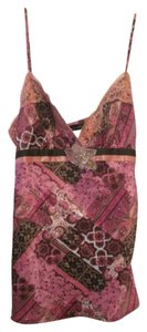 Fleurish Large Embellished Floral Night Out Top Pink