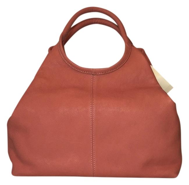 Item - Dark Rose Leather Hobo Bag