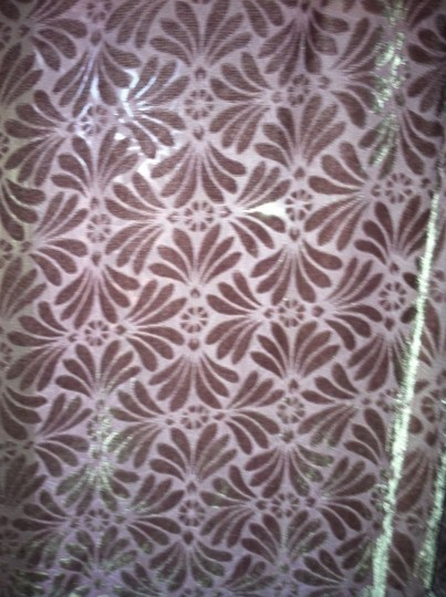 Other Double sided Sheer Lace Silk Scarf