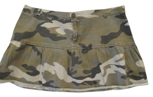 Level X Large Juniors Mini Skirt Camo