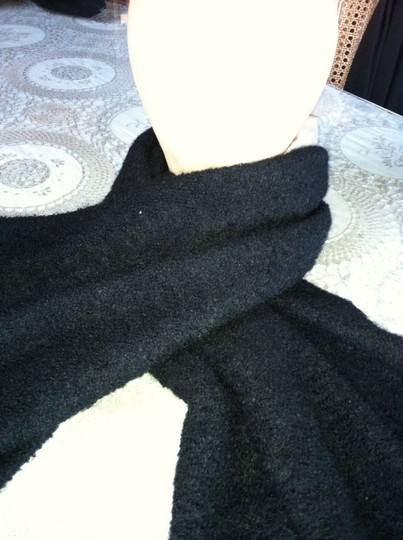 Other Oversize Two Sided Wool & Silk Scarf